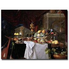 "<strong>Trademark Fine Art</strong> ""Still Life 1640"" Canvas Art"