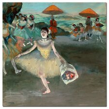 "<strong>Trademark Fine Art</strong> ""Dancer with Bouquet, 1877"" Canvas Art"