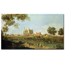 """Eton College, C.1754"" Canvas Art"