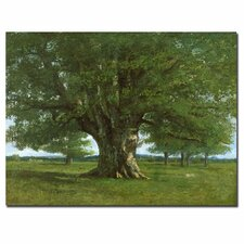 'The Oak of Flagey' by Gustave Courbet Painting Print on Canvas