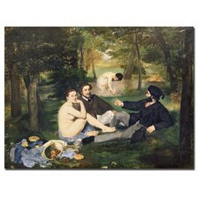 "<strong>Trademark Fine Art</strong> ""Dejeuner Sur I Herbe, 1863"" Canvas Art"