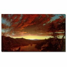 """Twilight in the Wilderness"" Canvas Art"