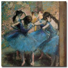 """Dancer in Blue, 1890"" by Edgar Degas Painting Print on Canvas"