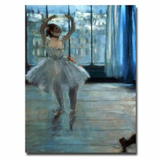 "<strong>Trademark Fine Art</strong> ""Dancer in Front of a Window"" Canvas Art"