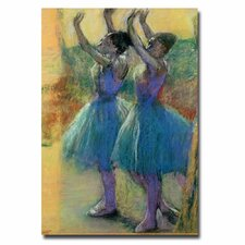 "<strong>Trademark Fine Art</strong> ""Two Blue Dancer"" Canvas Art"