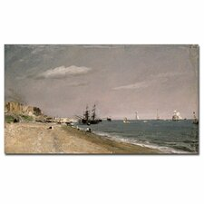 "<strong>Trademark Fine Art</strong> ""Brighton Beach with Collier, 1824"" Canvas Art"