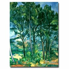 """The Aqueduct"" by Paul Cezanne Painting Print on Canvas"