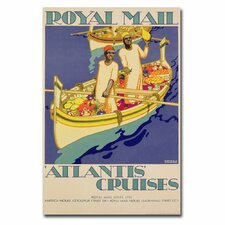 "<strong>Trademark Fine Art</strong> ""Atlantis Cruises, 1930"" Canvas Art"