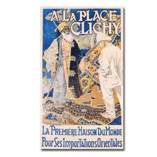 "<strong>Trademark Fine Art</strong> ""A La Place Clinchy, 1890"" Canvas Art"