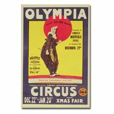 "<strong>Trademark Fine Art</strong> ""Bertram Mills Circus, 1922"" Canvas Art"