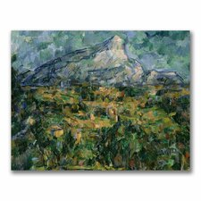 "<strong>Trademark Fine Art</strong> ""Mont Sainte-Victoire"" Canvas Art"