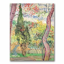 "<strong>Trademark Fine Art</strong> ""The Garden of St. Pauls Hospital"" Canvas Art"