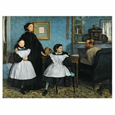 "<strong>Trademark Fine Art</strong> ""The Bellelli Family, 1858-67"" Canvas Art"