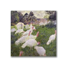 "<strong>Trademark Fine Art</strong> ""The Turkey at the Chateau"" Canvas Art"