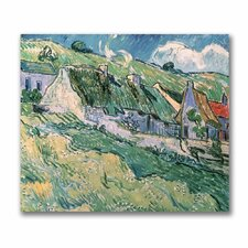 "<strong>Trademark Fine Art</strong> ""Cottages at Auver-Sur-Oise, 1890"" Canvas Art"