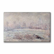 "<strong>Trademark Fine Art</strong> ""Frost Near Vetheuil"" Canvas Art"