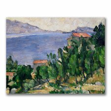 "<strong>Trademark Fine Art</strong> ""View of Mount Marseilleveyre"" Canvas Art"