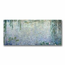 """""""Water Lilies, Morning II"""" by Claude Monet Painting Print on Canvas"""