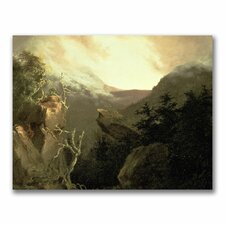 "<strong>Trademark Fine Art</strong> ""Mountain Sunrise"" Canvas Art"
