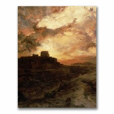 "<strong>Trademark Fine Art</strong> ""Sunset, Pueblo Del Walpe, Arizona"" Canvas Art"
