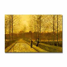 "<strong>Trademark Fine Art</strong> ""In the Golden Gloaming"" Canvas Art"