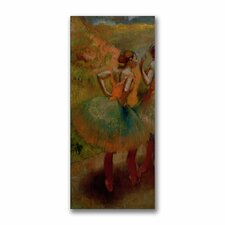 "<strong>Trademark Fine Art</strong> ""Dancers Wearing Green Skirts"" Canvas Art"