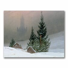 "<strong>Trademark Fine Art</strong> ""Winter Landscape"" Canvas Art"