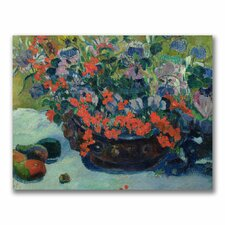 "<strong>Trademark Fine Art</strong> ""Bouquet of Flowers, 1897"" Canvas Art"