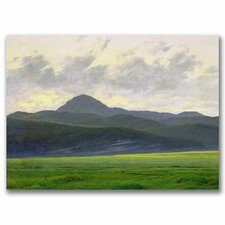 "<strong>Trademark Fine Art</strong> ""Mountains Landscape"" Canvas Art"