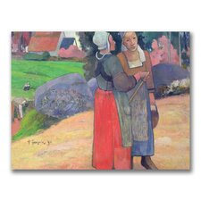 "<strong>Trademark Fine Art</strong> ""Brenton Peasants, 1894"" Canvas Art"