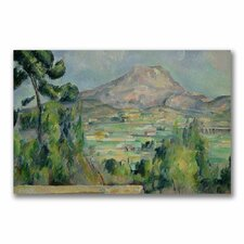 "<strong>Trademark Fine Art</strong> ""Montagne Sainte-Victoire III"" Canvas Art"