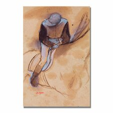 "<strong>Trademark Fine Art</strong> ""Jockey Flexed Forward in Saddle"" Canvas Art"