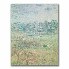 """""""Autumn Morning"""" by Camille Pissarro Painting Print on Canvas"""