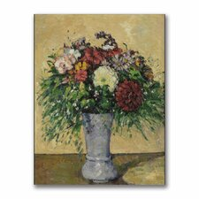 """Bouquet of Flowers in a Vase"" Canvas Art"