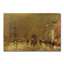 "<strong>Trademark Fine Art</strong> ""A Liverpool Street"" Canvas Art"