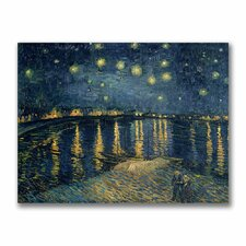 """The Starry Night II"" by Vincent Van Gogh Painting Print on Canvas"