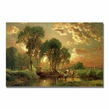 "<strong>Trademark Fine Art</strong> ""Medfield, Massachusetts"" Canvas Art"