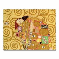 """Fulfilment"" by Gustav Klimt Painting Print on Canvas"