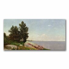 "<strong>Trademark Fine Art</strong> ""Long Island Sound at Darien"" Canvas Art"
