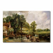 "<strong>Trademark Fine Art</strong> ""The Hay Wain"" Canvas Art"