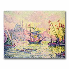 """View of Constantinople"" by Paul Signac Painting Print on Canvas"