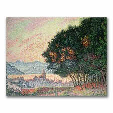 """Forest Near St. Tropez"" by Paul Signac Painting Print on Canvas"
