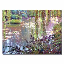 'Homage to Monet' by David Lloyd Glover Painting Print on Canvas