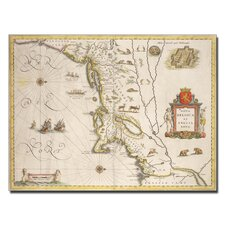 "<strong>Trademark Fine Art</strong> ""Map of New Belgium and New England"" Canvas Art"