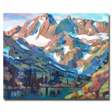 <strong>Trademark Fine Art</strong> 'Sierra Nevada Silence' Canvas Art