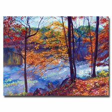 <strong>Trademark Fine Art</strong> 'Falling Leaves' Canvas Art