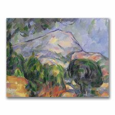 """Montagne Sainte-Victoire II"" Canvas Art"