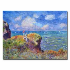 <strong>Trademark Fine Art</strong> 'On the Bluff at Pourville' Canvas Art