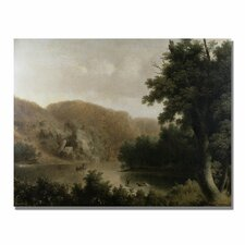 "<strong>Trademark Fine Art</strong> ""Mountain Lake"" Canvas Art"