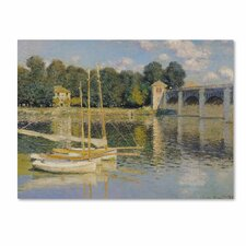 "<strong>Trademark Fine Art</strong> ""The Bridge at Argenteuil"" Canvas Art"